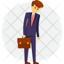 Disappointed Businessman Icon