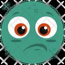 Sad Emoji Emotion Emotag Icon
