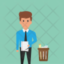 Disappointment Failure Task Icon