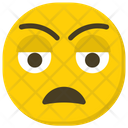 Disappointed Face Emoticon Smiley Icon