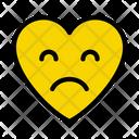 Sad Unhappy Emoji Icon