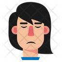 Girl Disappointed Girl Sad Icon