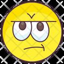 Disapproving Emoji Icon