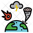 Damage Disaster Attack Icon
