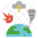 Disaster Damage Attack Icon