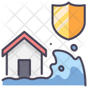 Disaster Insurance Icon