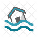 Disaster Flood Water Icon