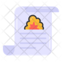 Fire Report Blast Report Disaster News Icon