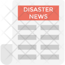 Disaster News Icon