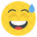 Disbelief Grinning Happy Icon