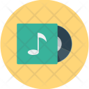 Disc Music Cd Icon