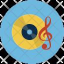Disc Tune Note Icon