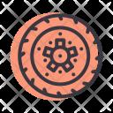 Disc Brake Motorcycle Icon