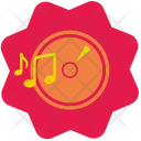 Disc Melody Song Icon