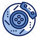Brake Disc Vehicle Icon