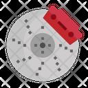 Disc Brake Car Icon