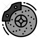Brake Disc Brakes Icon