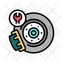 Brake Disc Repair Icon