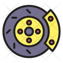 Brake Car Disc Icon
