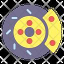 Brake Car Disc Icon