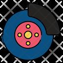 Disc Brake Brake Pad Auto Brake Icon