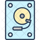 Disc Player Hard Disk Hard Drive Icon