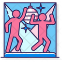 Disco Party Dance Icon