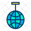 Disco Celebration New Year Party Icon
