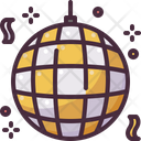 Disco Ball Birthday And Party Mirror Ball Icon