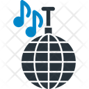 Disco Ball Audio Music Icon