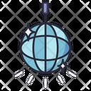 Disco Ball Party Light Icon