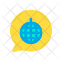 Disco Chat Icon