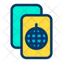 Disco Invitation Icon