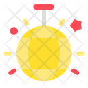 Disco Lamp New Year Celebration Icon