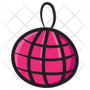 Decorative Balls Disco Light Dance Ball Icon