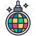 Dance Lamp Disco Party Icon