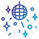 Dance Ball Disco Ball Disco Lights Icon