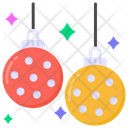 Decorative Balls Party Balls Disco Lights Icon