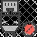 Disconnect Unlink Offline Icon