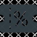 Discount Voucher Gift Icon
