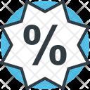 Discount Sticker Percentage Icon