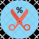 Discount Scissors Shears Icon