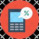 Discount Percentage Calculator Icon