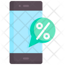 Discount Message Promotion Icon