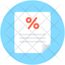 Discount Papers Loan Icon