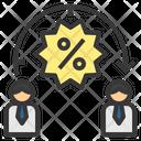 Discount Term Percent Icon