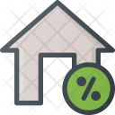 Discount Apartment House Icon