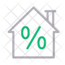 Discount House Sale Icon