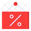 Discount Sale Sign Icon