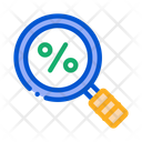 Percent Research Tax Icon